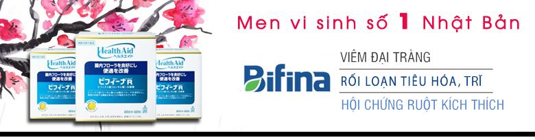 Men tiêu hoá Heath Aid Bifina Nhật Bản